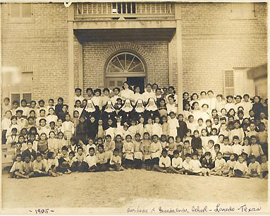 Our Lady of Guadalupe School, Laredo, Texas, 1905