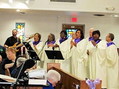 The Gospel Choir From Holy Redeemer Church