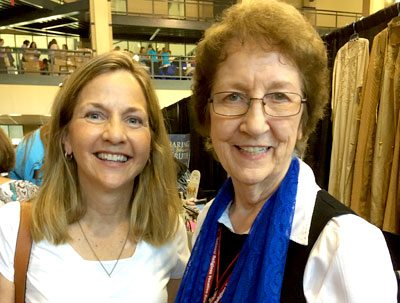 Sister Miriam And Friend At The Catholic Women's Conference